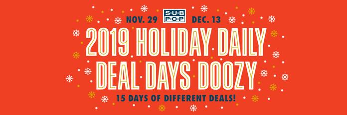 Sub Pop Holiday Sale 2019